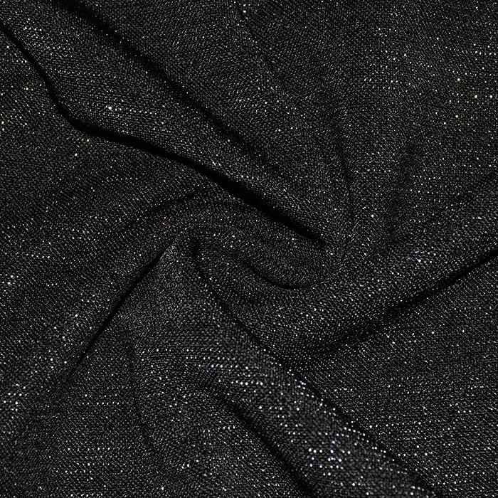 Pletivo, gusto, glitter, 21673-069, crna