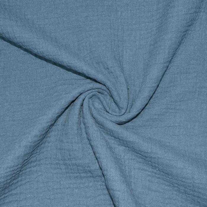 Tetra tkanina, trojna, 21852-006, modra
