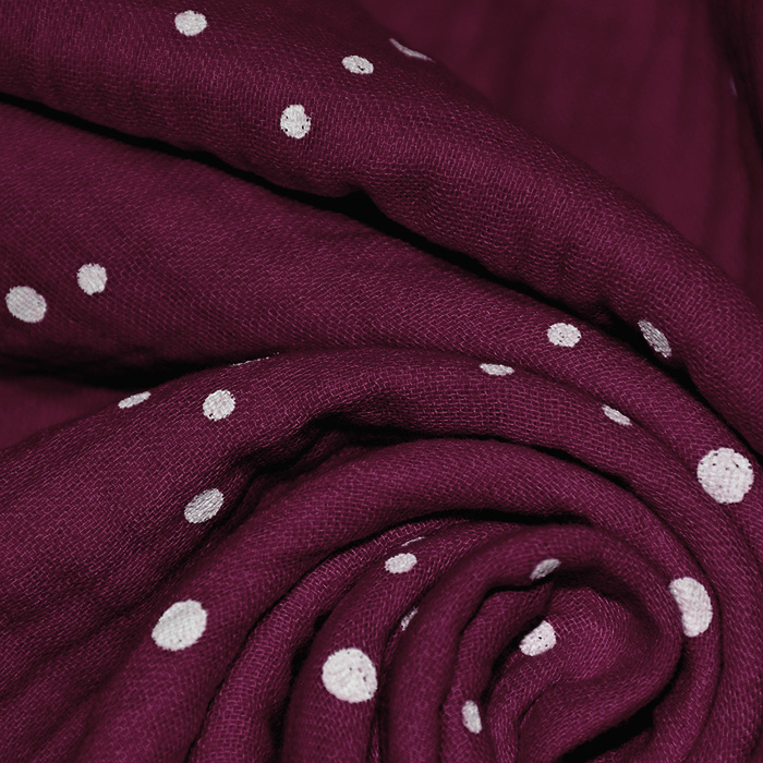 Tetra tkanina, trojna, pike, 21853-018, bordo