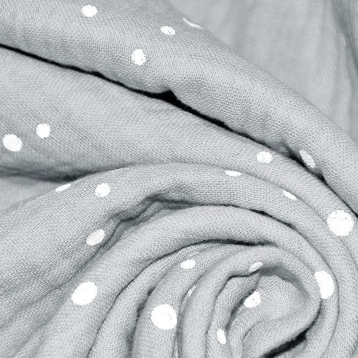Tetra tkanina, trojna, pike, 21853-061, siva