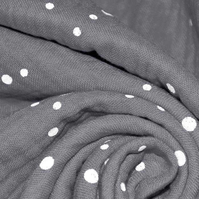 Tetra tkanina, trojna, pike, 21853-063, siva