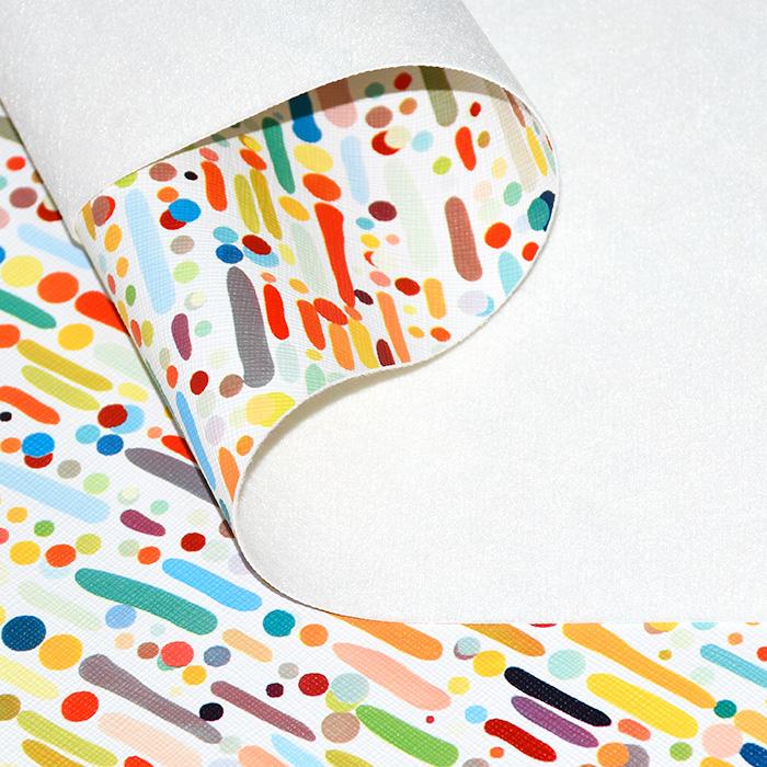 Umetno usnje Bonbon, 21875-2, bela