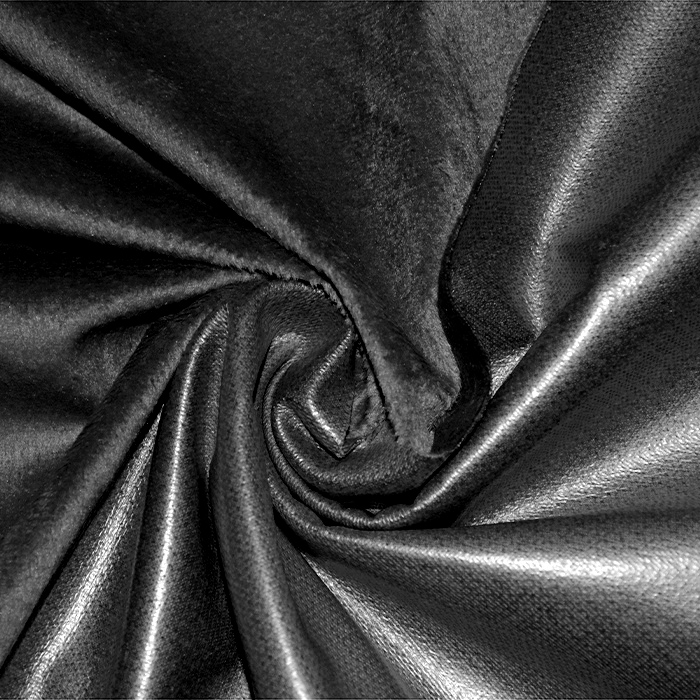 Pletivo PUL, vodoodbojno, pliš, 21894-1, črna