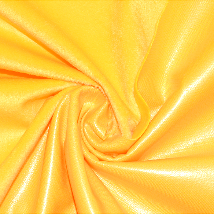 Pletivo PUL, vodoodbojno, pliš, 21894-2, rumena