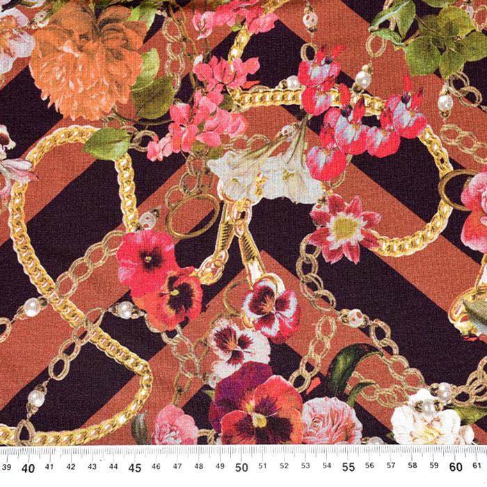 Jersey, viskoza, cvetlični, 21776-20