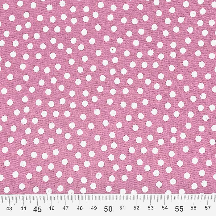 Tetra tkanina, dvostruka, točkice, 21909-3021, ružičasta