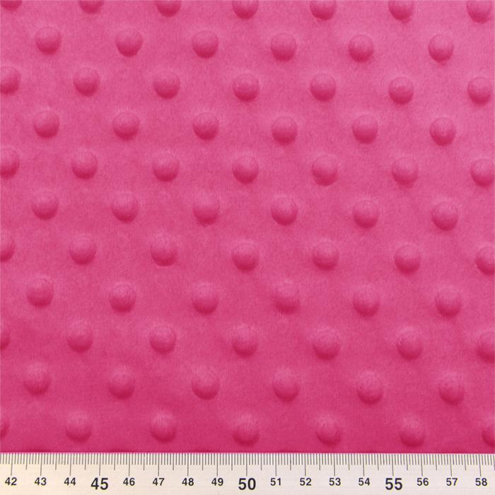 Velur coral, Minky, 21912-017, ružičasta