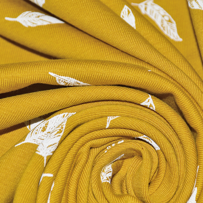 Jersey, bombaž, peresa, 21761-233, rumena