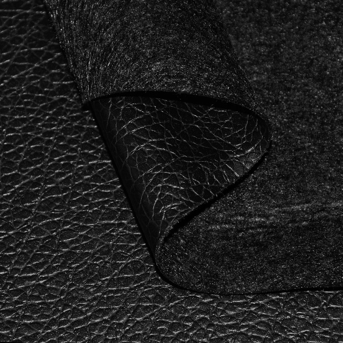 Reciklirano umetno usnje, Avatar, 21935-901, črna