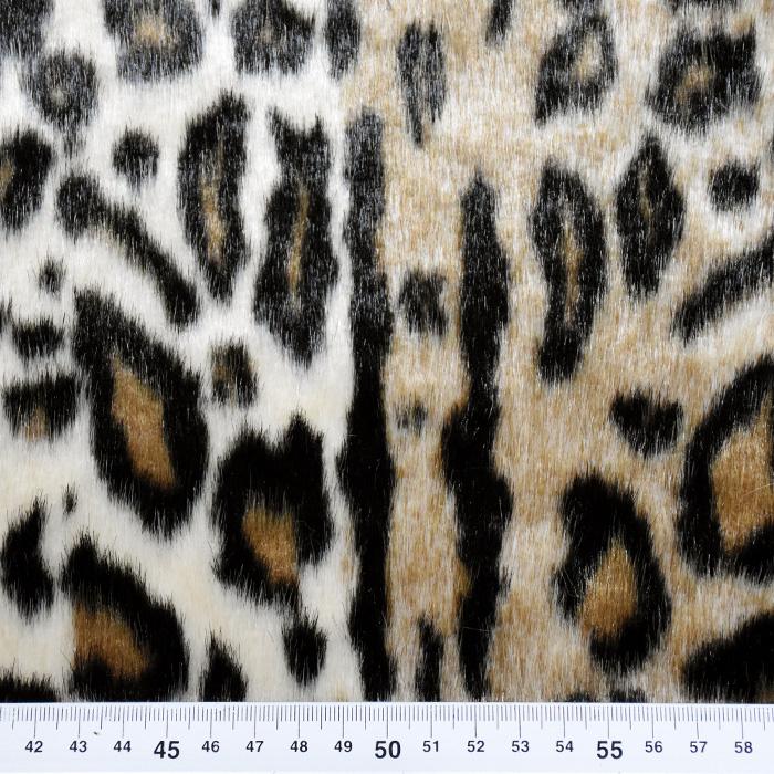 Umetno krzno, živalski, kratkodlako, 21946-17
