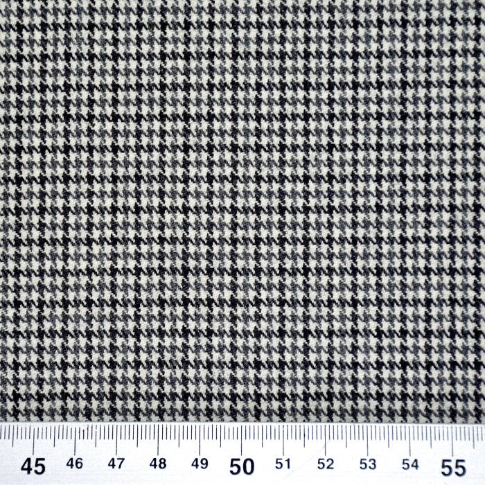 Volna za plašče, pepita, 21946-10, siva