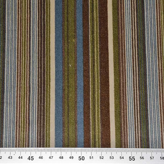 Deko žamet, črte, 21945-9, modro-zelena