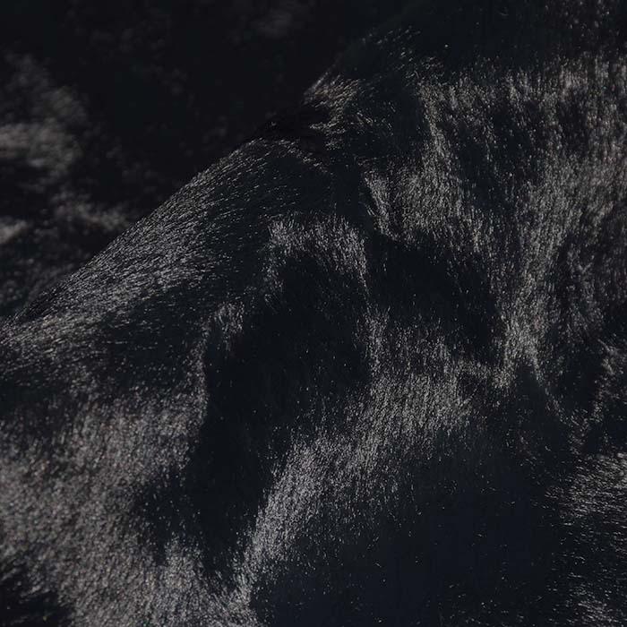 Krzno, kratkodlako, viskoza, 21945-14, črna