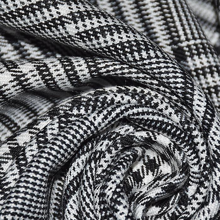 Kostimski, klasičen, karo, 21972-369, črno bela