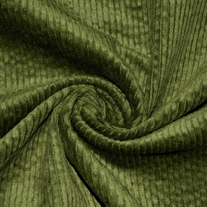 Žamet, bombaž, 21984-724, zelena