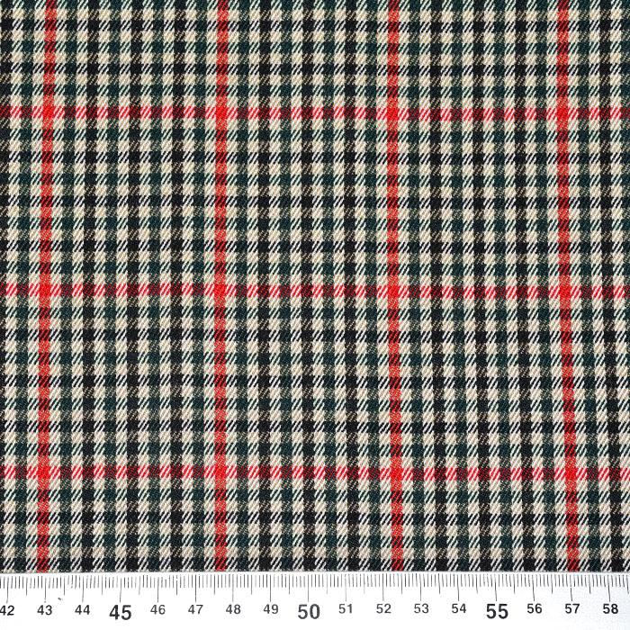 Kostimski, klasičen, karo, 22006-3, zelena