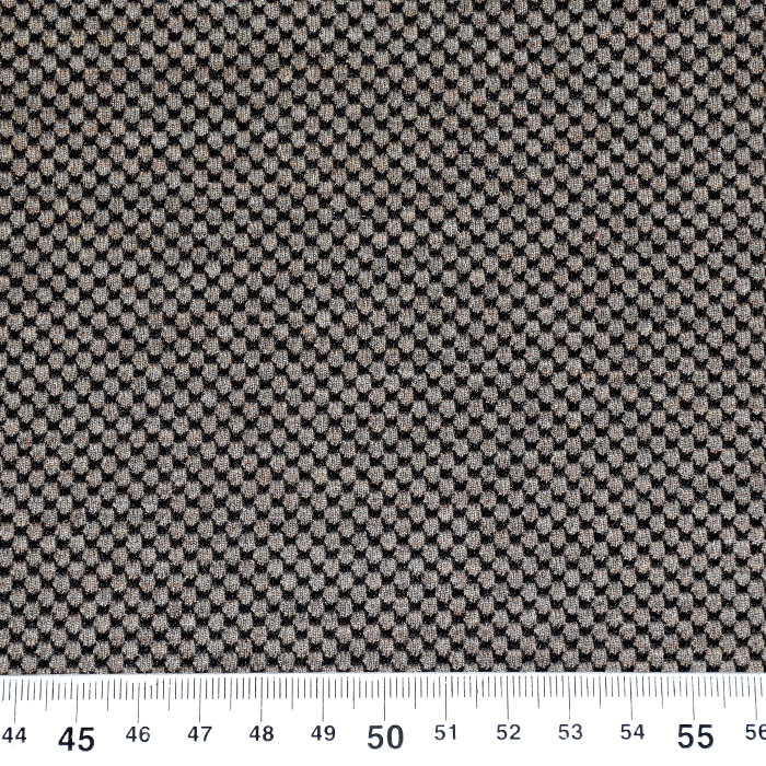 Pletivo, gusto, točke, 21776-67, smeđe-bež