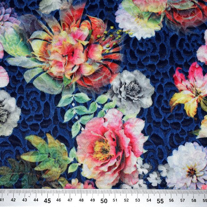 Pletivo, gosto, cvetlični, 22022-1, modra