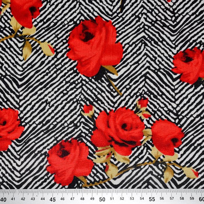 Pletivo, gosto, cvetlični, 22022-10, rdeča