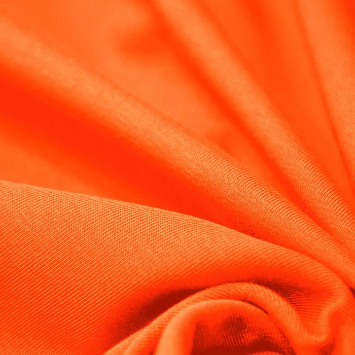 Jersey, bombaž, 13335-7, oranžna