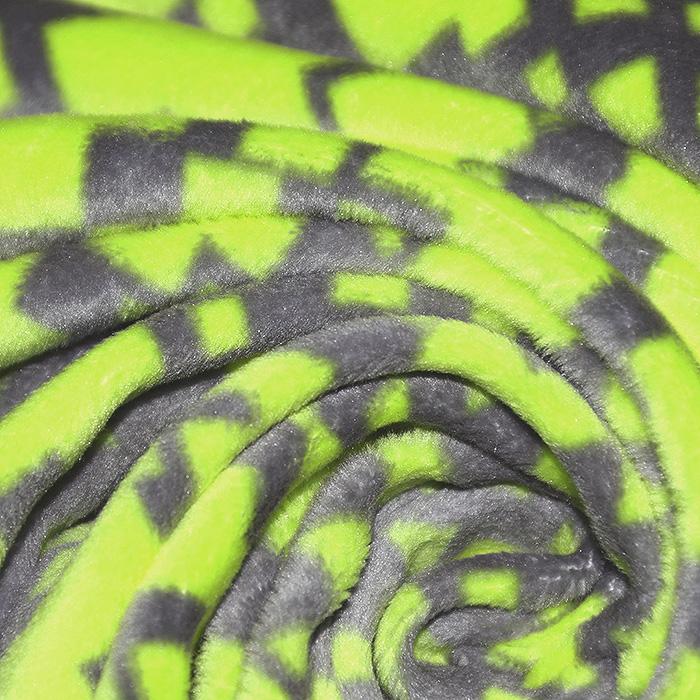 Velur coral, elastičen, geometrijski, 22097-0802, rumena