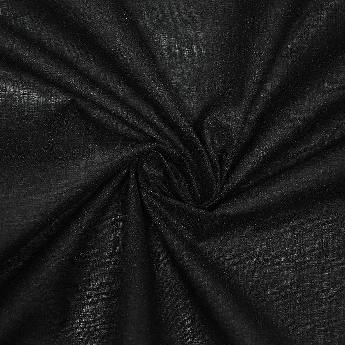 Medvloga, lepljiva, platno, 22161-002, črna