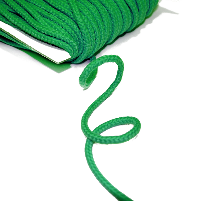 Vrvica, bombažna, 5mm, 16510-42275, zelena