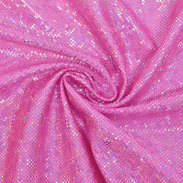 Poliamid, elastan, Honey Hologram, 22037-403, roza