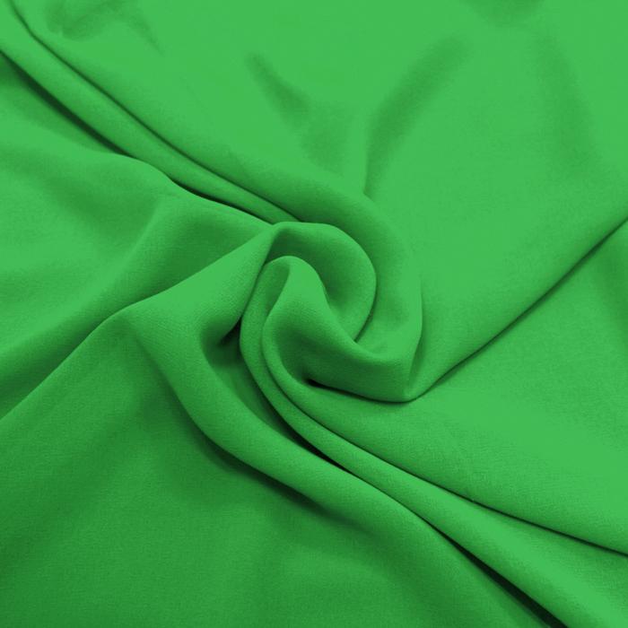 Šifon, poliester, 4143-196, zelena