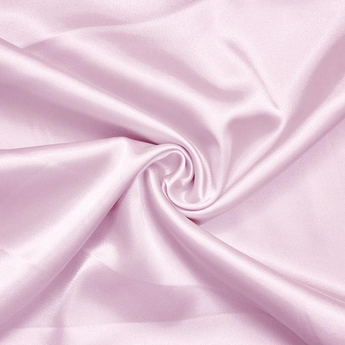 Saten, poliester, 3093-340, roza