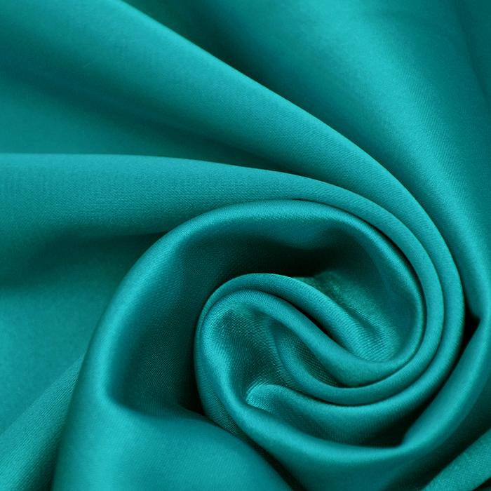 Saten, poliester, 3093-46, zeleno modra
