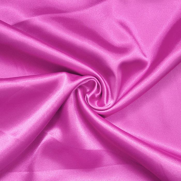 Saten, poliester, 3093-117, roza