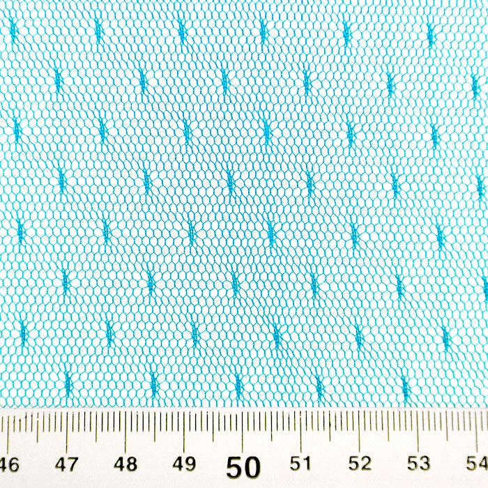 Mreža, prožna, pike, 19002-36, turkizna