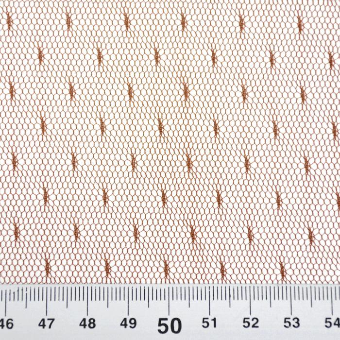 Mreža, prožna, pike, 19002-43, rjava