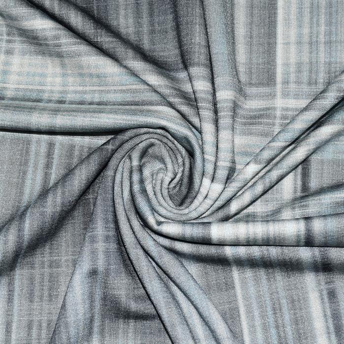 Jersey, viskoza, geometrijski, 21776-104, siva