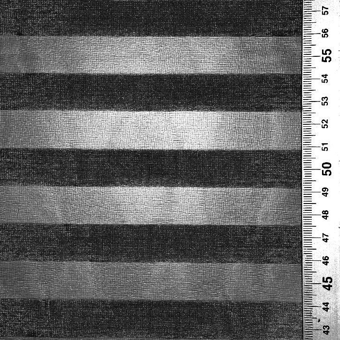 Organza, črte, 22280-1203, črna