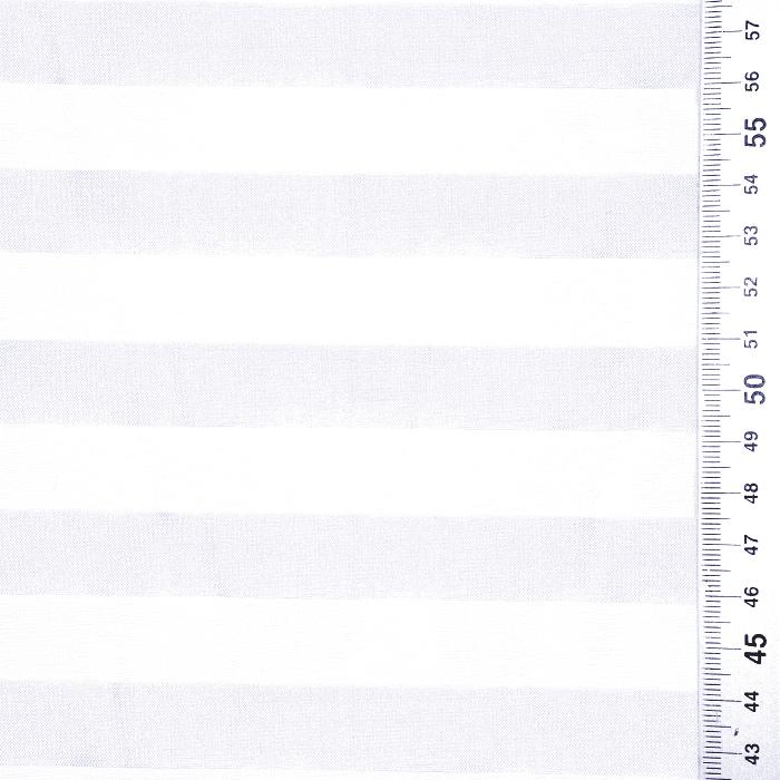 Organza, črte, 22280-1227, bela