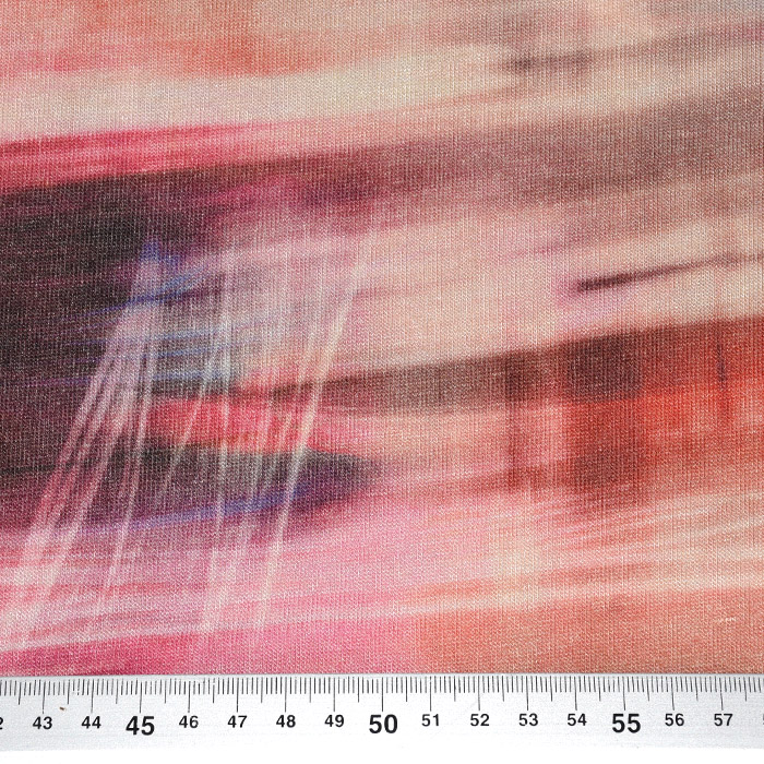 Pletivo tanje, viskoza, apstraktni, 21776-126
