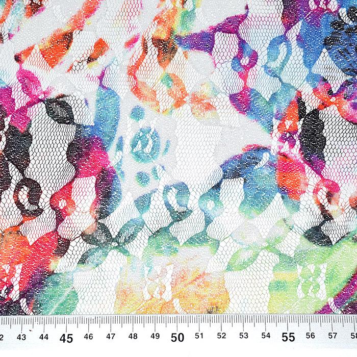 Čipka, prožna, cvetlični, 21776-130