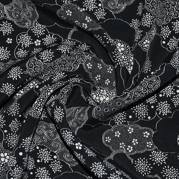 Tkanina, viskoza, cvetlični, 21776-115