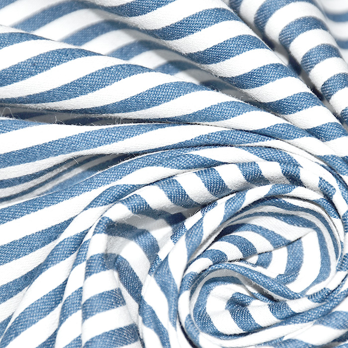 Jeans, košulja, pruge, 22292-002, plava