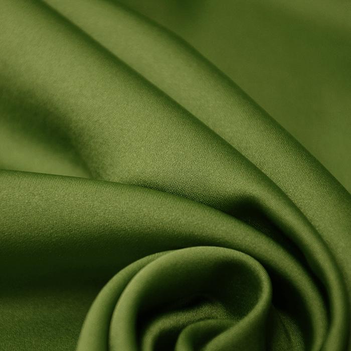 Saten, mikropoliester, 14171-056, zelena