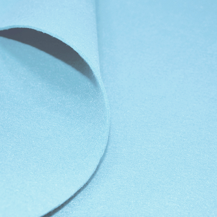 Filc 3 mm, poliester, 16124-001, svetlo modra