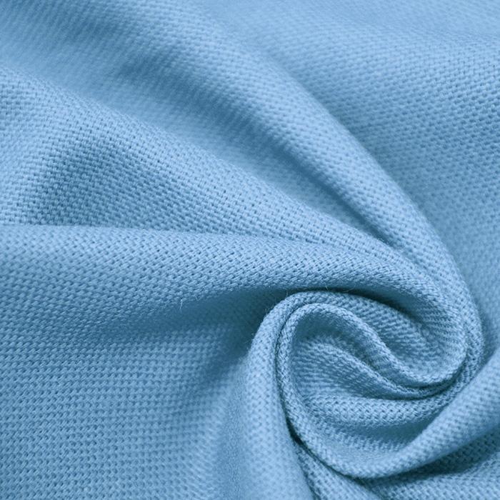 Deko, bombaž, panama, 13800-96, svetlo modra