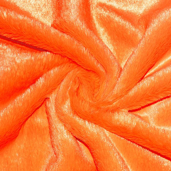 Umetno krzno, kratkodlako, 20224-033, oranžna