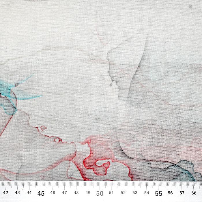 Tkanina, viskoza, digital, abstraktni, 22466-950