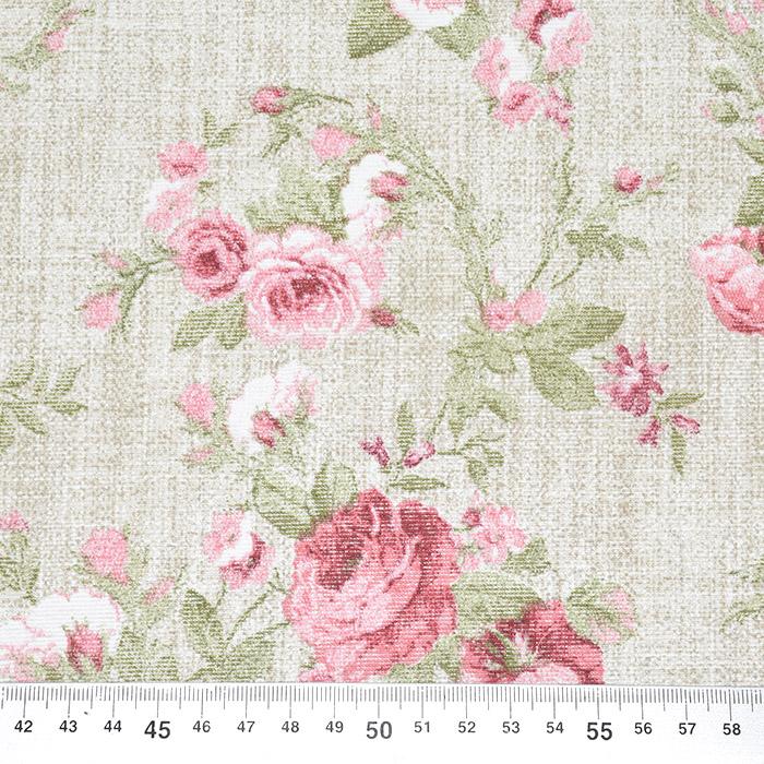 Deko, tisk, cvetlični, 22645
