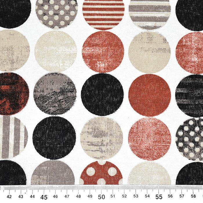 Deko, tisk, krogi, 22669, opečna