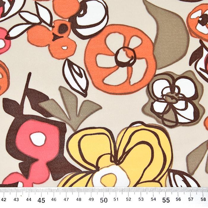 Jersey, viskoza, filamentna, cvetlični, 22686-101