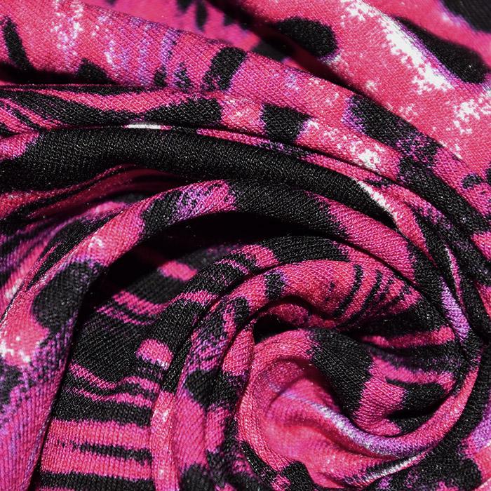 Jersey, viskoza, abstraktni, 22686-108, roza